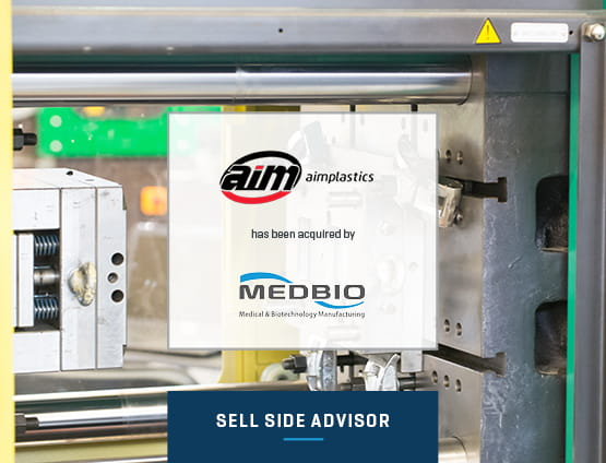 AIM Plastics has been acquired by MedBio