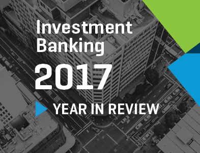 Stout Investment Banking 2017 Year in Review