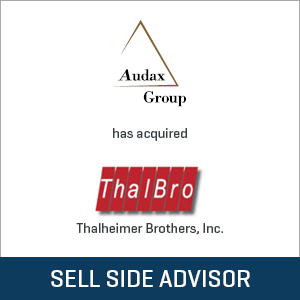 Audax Group has acquired ThalBro