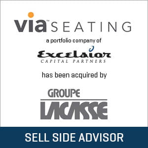 Via Seating acquired by Groupe Lacasse