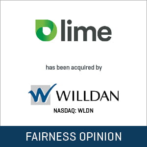 Lime Energy Fairness Opinion