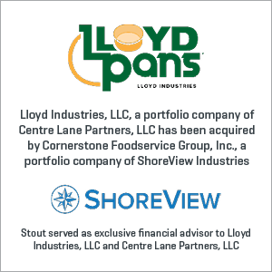 Lloyd Industries has been acquired by Cornerstone Foodservice Group, Inc.