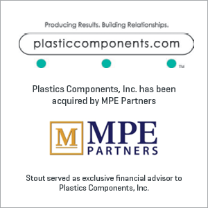 Plastics Components, Inc. has been acquired by MPE Partners