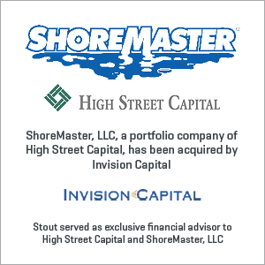 ShoreMaster, LLC has been acquired by Invision Capital