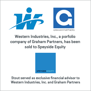 Western Industries, Inc. has been sold to Speyside Equity