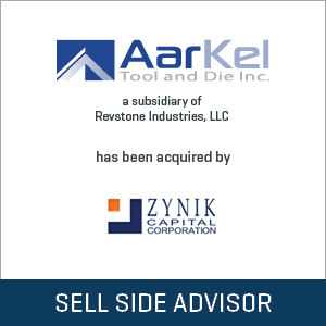 Aarkel Tool and Die Acquisition