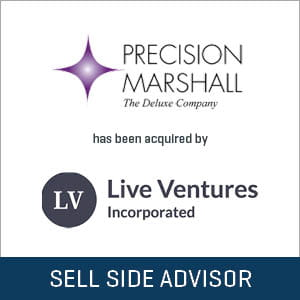Precision Marshall acquired by Live Ventures Inc.