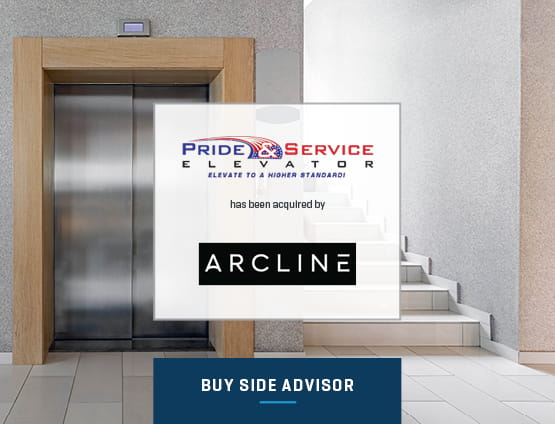 Arcline Acquired Pride and Service Elevator