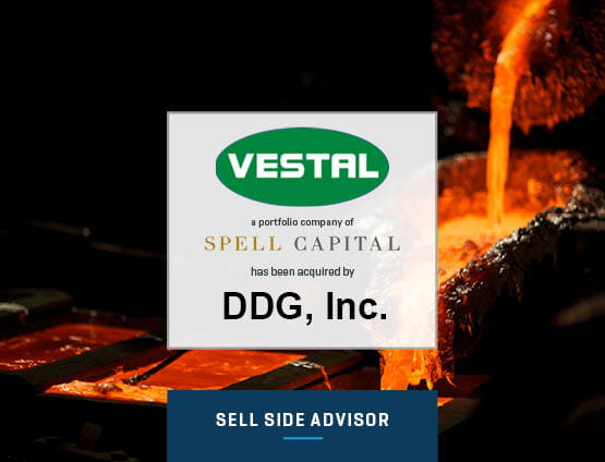Vestal Manufacturing Acquired by DDG Inc